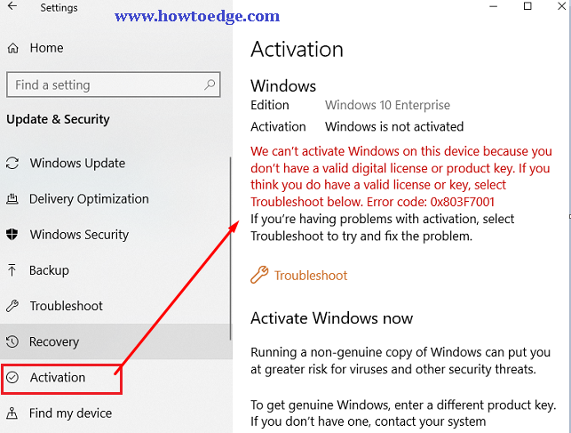 How to get Windows 10 product key or Digital License