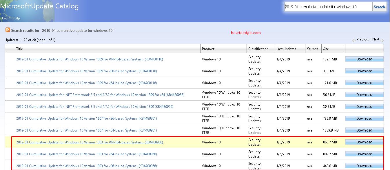 update windows 10 1803 auf 1809
