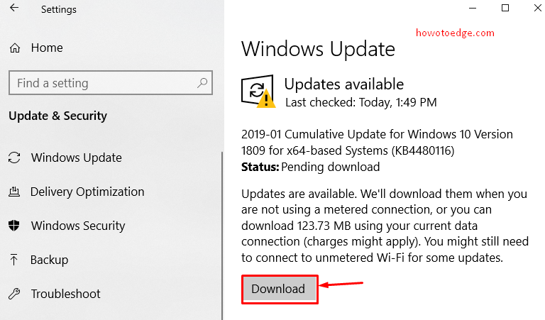 KB4480116 for Windows 10 1809 Build 17763 253 features