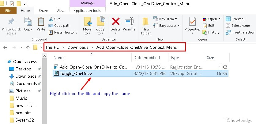 OneDrive Open or Close