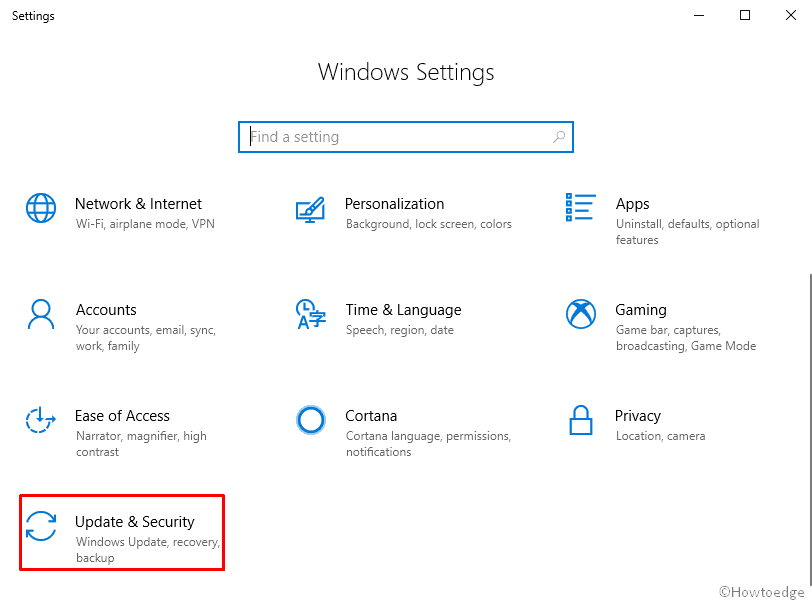 How to uninstall the Windows 10 V1903 - April 2019 update image 1