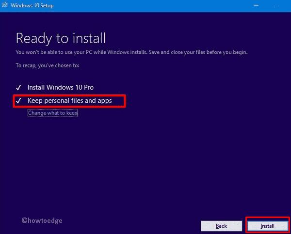 install Windows 10 19H1 Update