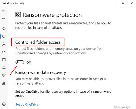 restore Read Only Folders
