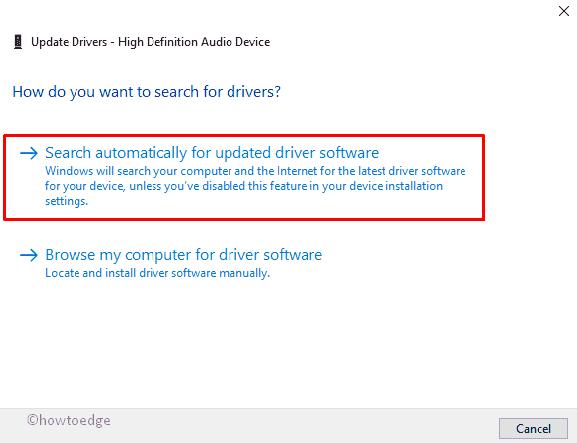 Fix- Realtek High Definition Audio Issue on Windows 10