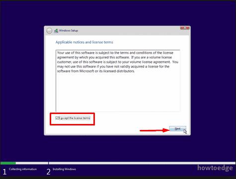 install Windows 10 1903