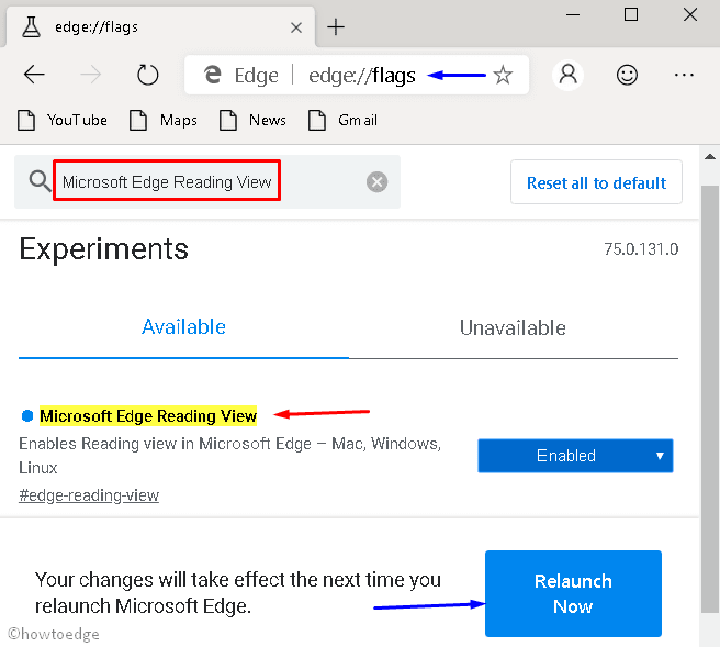 How to enable reader view on Chromium Edge Browser - Howtoedge