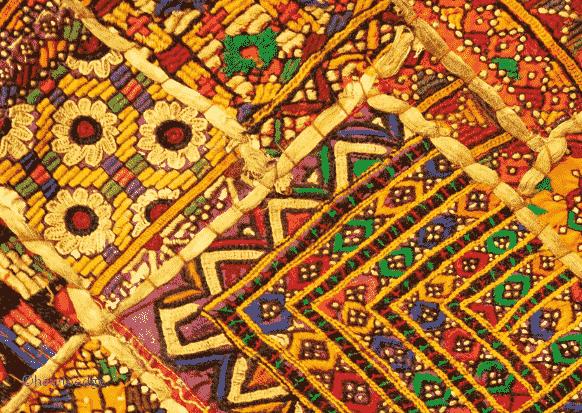 Fabrics of India theme