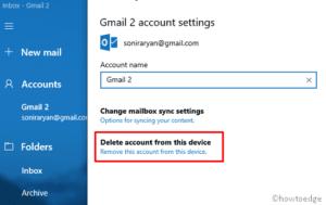 Mail error code 0x80072746