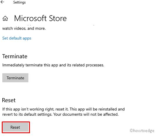 Microsoft Store Error 0x80073CFE
