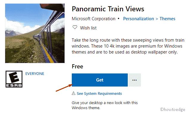 Panoramic Train Views