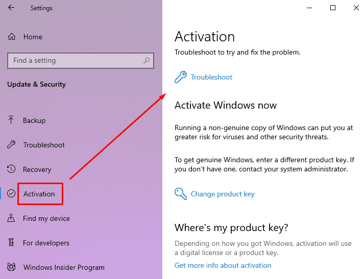 Windows Activation Error 0x87E10BC6