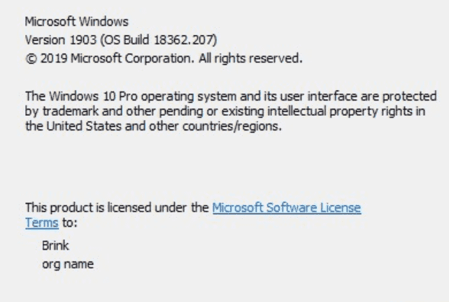 KB4501375 updates Windows 10 1903 to Build 18362 207 - Howtoedge