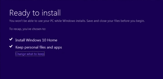 Clean Install