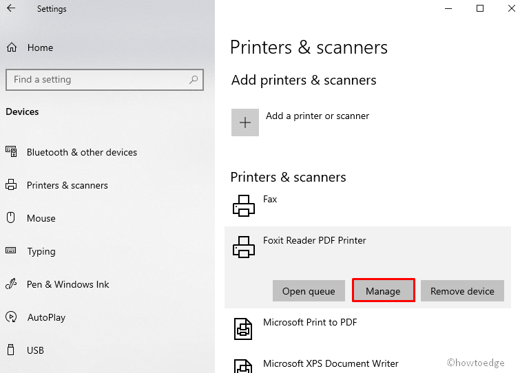 share files and printers