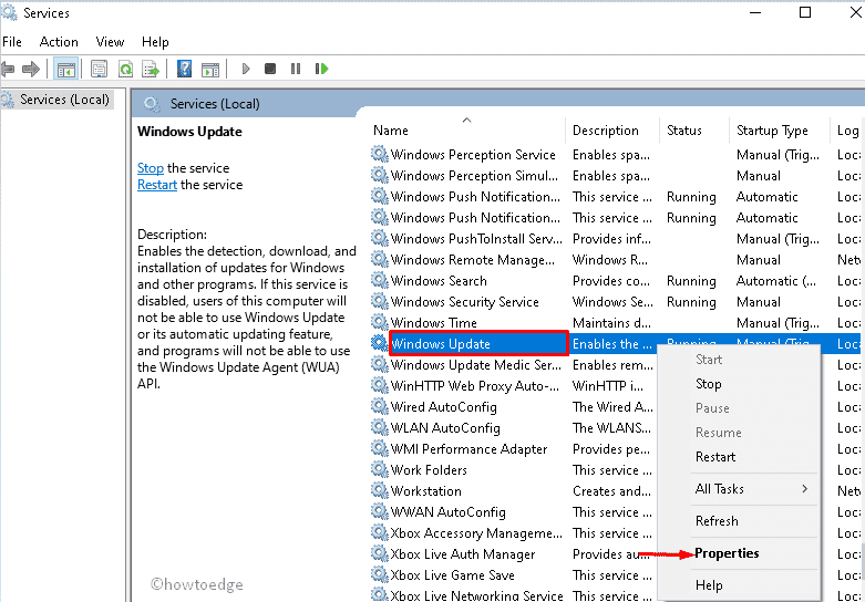 Fix - Microsoft Store Error code 0x80070422 in Windows 10
