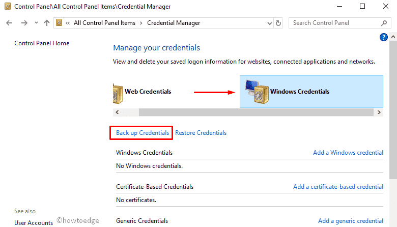 How To Delete Credentials In Windows 10 Accessing Credential