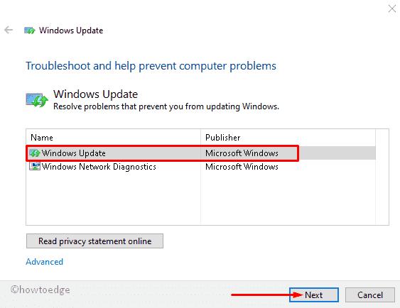 Fix: Windows Update error 0xc190012e in Windows 10 - Howtoedge