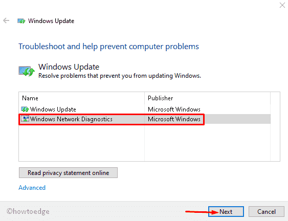 Windows Update error 0xc190012e