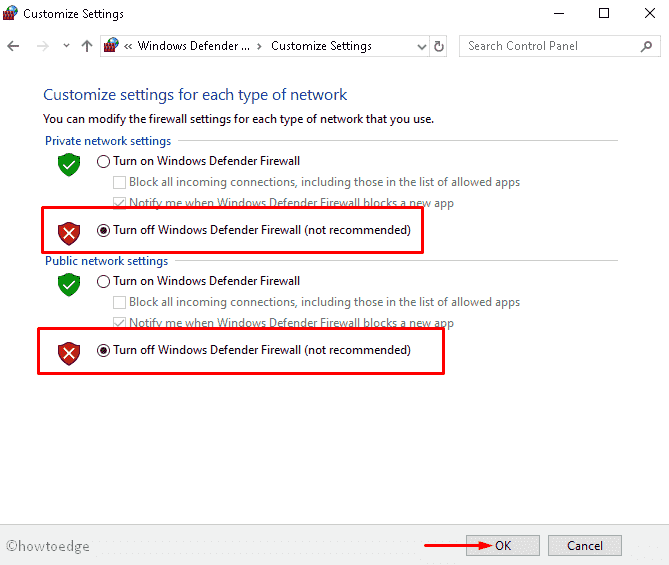 Error code C1900101