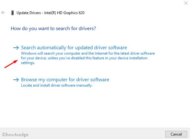 Minecraft fatal error on Windows 10