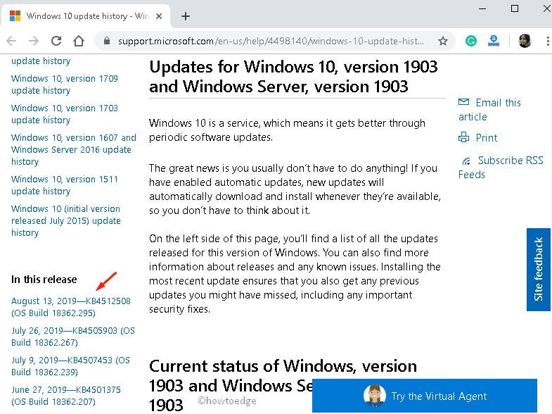 Update Error 0x800F0816