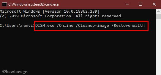 Fix - APC_INDEX_MISMATCH BSOD Error in Windows 10 - Howtoedge