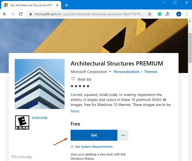 Download Architectural Structures Premium Windows 10 Theme