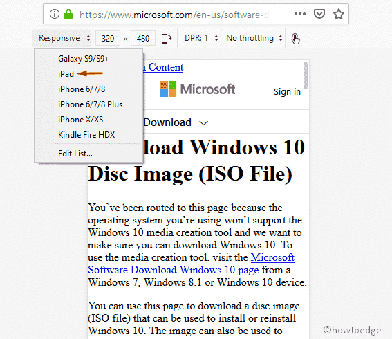 Download Windows 10 ISO file