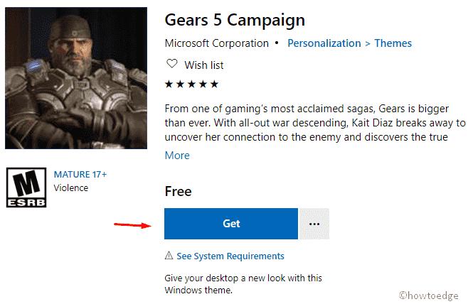 Gears 5 Compaign