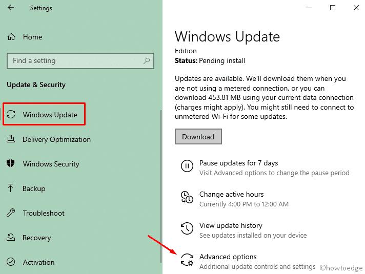 Windows 10 19H2 installation