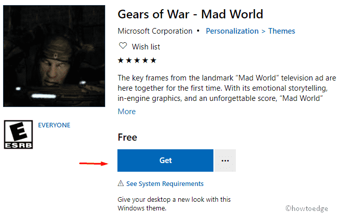 Gears of War - Mad World