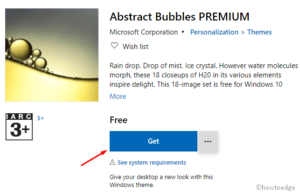 Abstract Bubbles PREMIUM