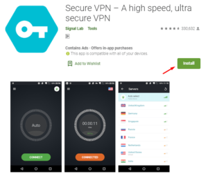 4 free VPN apps for Android - Secure VPN