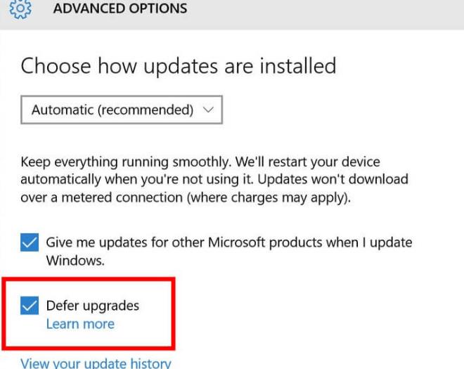 Update Error code 0x80240fff