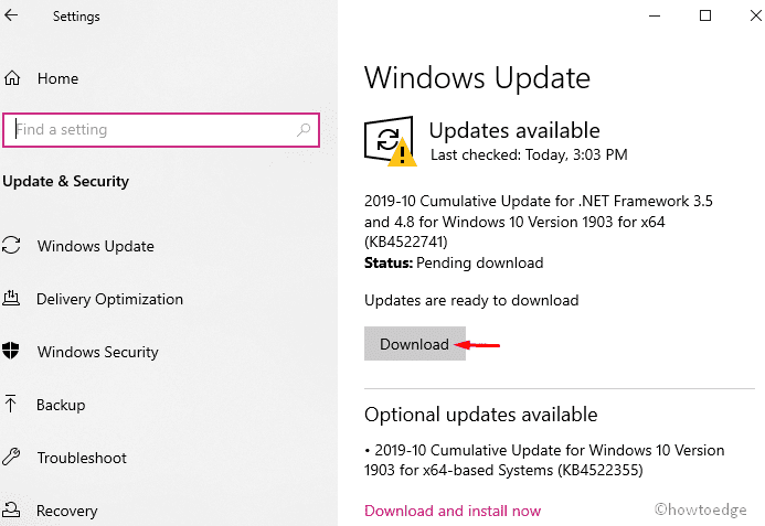 Install Windows 10 November 2019