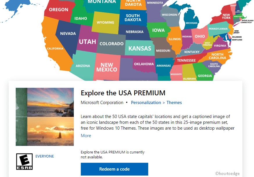 Explore the USA Premium Windows 10 Theme