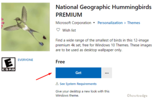 National Geographic Hummingbirds PREMIUM