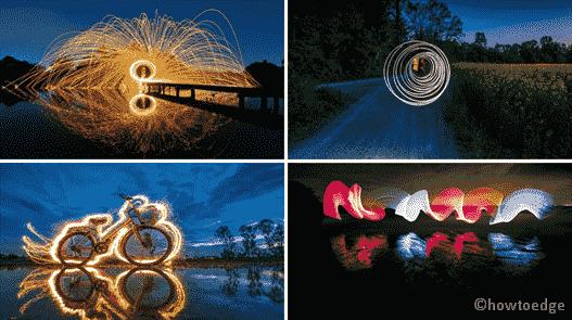 Painting in Light Premium Windows 10 Theme