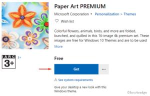 Paper Art PREMIUM Windows 10 Theme