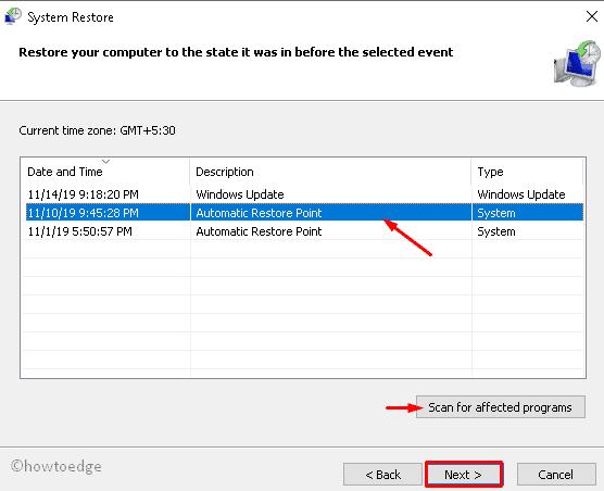 Update Error 0x8009001d