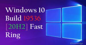 Windows 10 Build 19536
