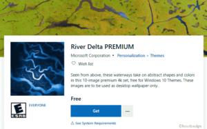 River Delta Premium Windows 10 Theme