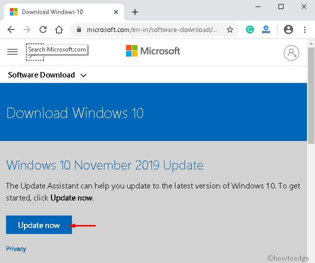 Update Windows using ISO
