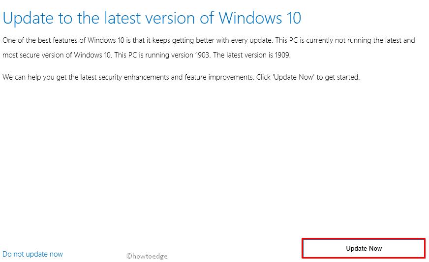 Update Error 0x80240034