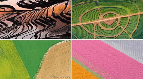 Aerial Farmland Premium Windows 10 Theme