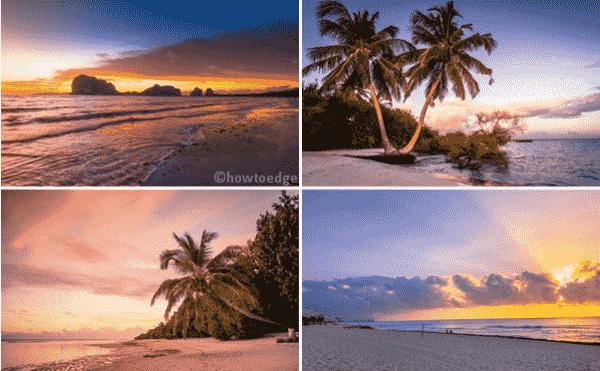 Beach Glow Windows 10 Theme