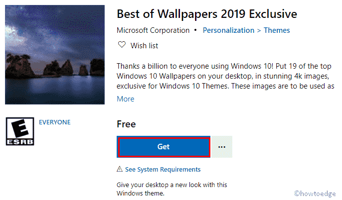 Best Wallpapers of 2019 Exclusive Windows 10 Theme