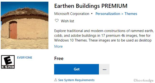 Earthen Buildings Premium