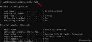 Err_Internet_disconnected issue