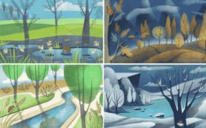 Seasonal Art PREMIUM Windows 10 Theme